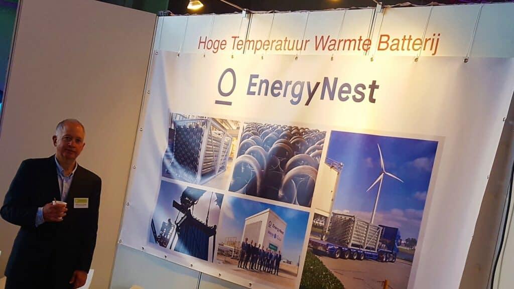 Inno Expo Xavier van der Putten from partner company EECT